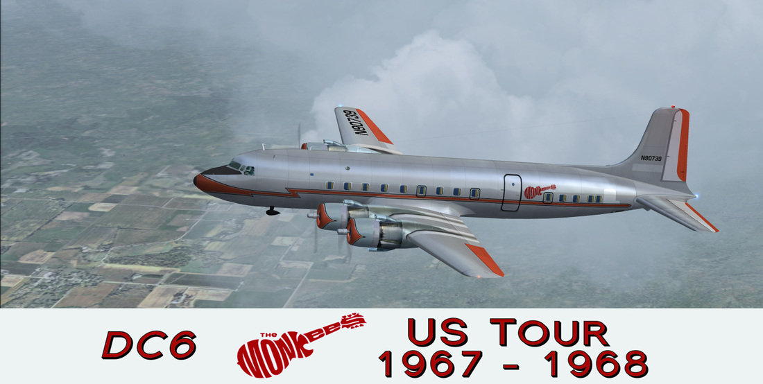 Monkees Tour DC6