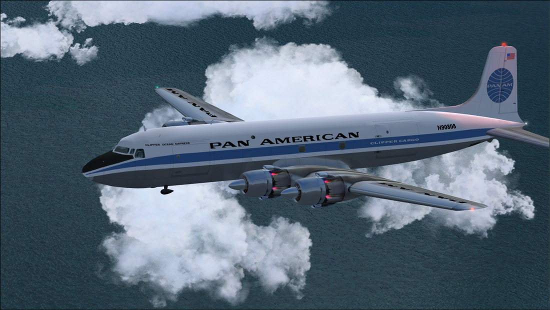 Pan Am Cargo DC6A 1959