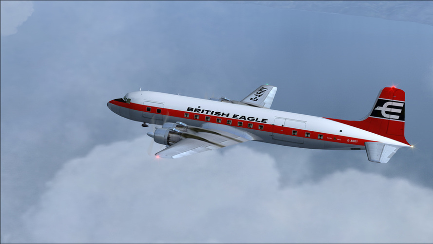 British Eagle DC-6A