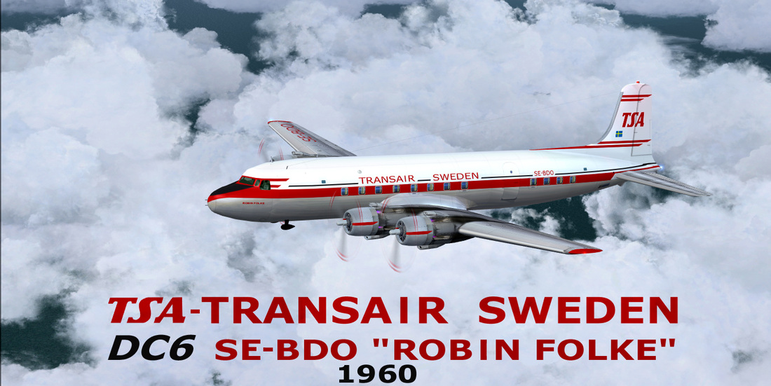 Transair Sweden DC6