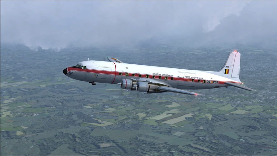 Belgian Air Force DC6A