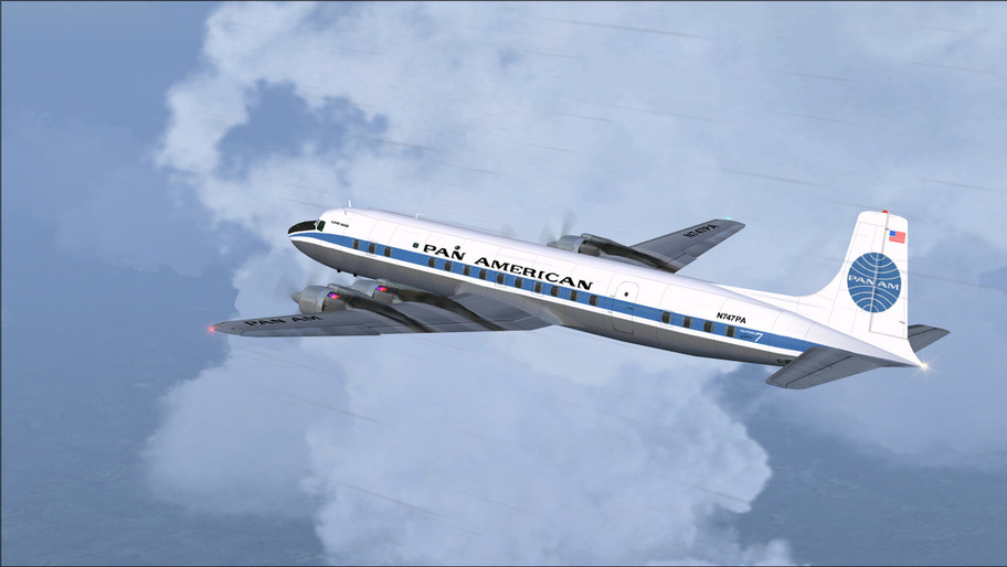 Pan Am DC7C 1959