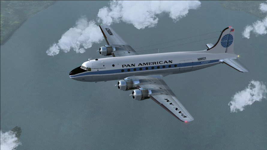 Pan Am DC4