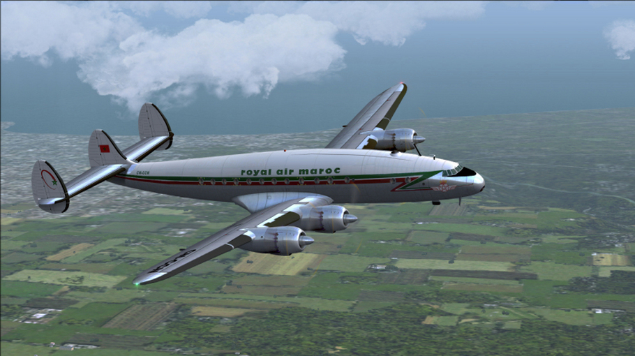 Royal Air Maroc L749