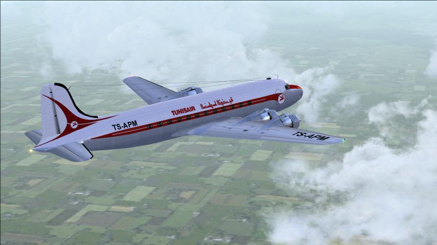 Tunisair DC4 1958