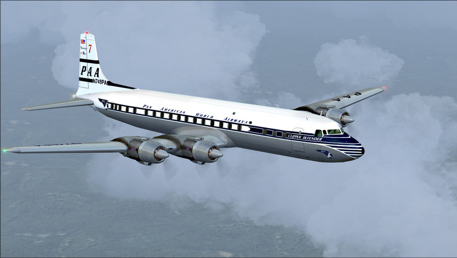 Pan Am DC7C 1957
