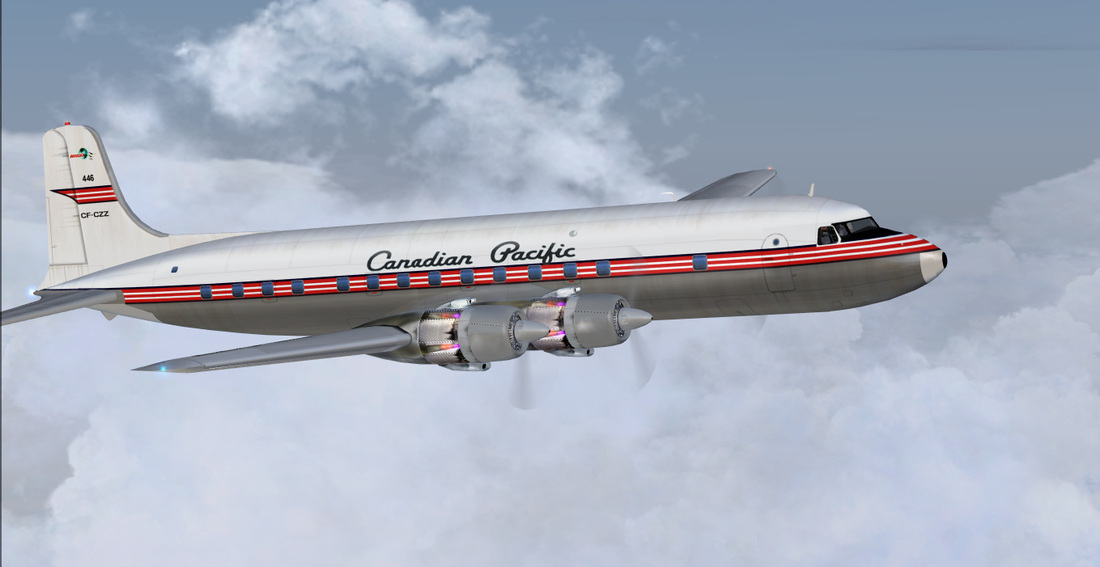 Canadian Pacific DC6A